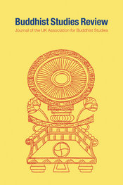 Cover of Buddhist Studies Review